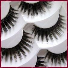 japanese dramatic glamorous volume black brown Mixed false eyelash 3 pairs