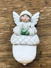 Midwest Acorn Angel with Dove Christmas Ornament by Pam Schifferl