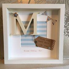 ⚓️Personalised New Baby, Birth, Christening, Boy & Girl Frames Gift/Keepsake