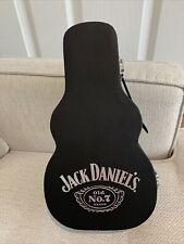 More details for rare jack daniels 70cl guitar bottle holding case  (empty)