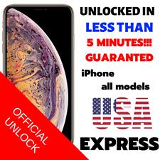 Premium FACTORY UNLOCK SERVICE AT&T CODE ATT for IPhone 5 5S 6 6s SE 7 8 X XR XS