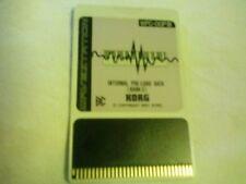 Korg Card  Singola Wpc-03  x Korg Wavestation