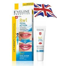 Eveline 8in1 Total Action Intense Hyaluronic Lip Plumper Booster Serum Push-Up