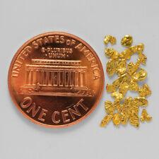 0.4652 Gram Alaska Natural Gold Nuggets --- (#54758-14) - Alaskan Gold Nuggets