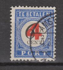 Port 29 used NVPH Nederland Pays Bas 1906 ALL NETHERLANDS DUE STAMPS PER PIECE