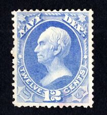 United States 1873-79 stamp with shift NAVY Mi#41 MNG CV=160€