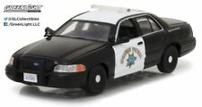 GREENLIGHT 1/43 2008 FORD CROWN VICTORIA POLICE CALIFORNIA HIGHWAY PATROL CHiPS!