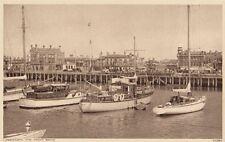 LOWESTOFT( Suffolk) : The  Yacht Basin -PHOTOCHROM