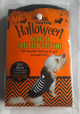ROSEWOOD Dog Tail Twisters Halloween Novelty Skeleton Costume Free P&P