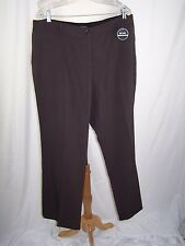 COUNTERPARTS WOMEN'S DRESS PANTS BROWN STRETCH SIZE 20W NWT