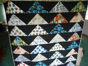 "Harry Potter quilt, handmade, new, 61"" x 61"""