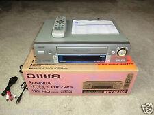 AIWA hv-fx7700 VHS Video Recorder, in original box & very clean, 2 Years Warranty