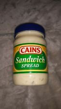 CAINS Sandwich Spread Pickle Mayonnaise New England Boston 15 Oz Jar Canes