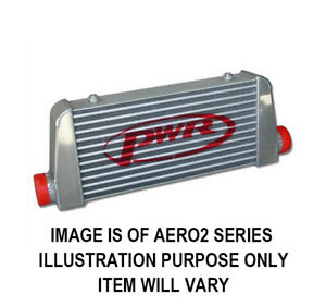 """PWR Street Series Intercooler, Core Size 500x200x68mm, 2.5"""" Outlets PWI78871"""