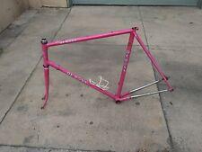 Vintage De Rosa Slx Road Bike In Pink Dura Ace Campagnolo Colnago Pinarello