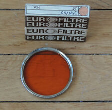 52 mm Mécanoptic-Agopian Vintage Filtre Orange