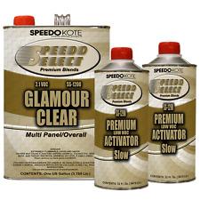 Ultra High Gloss 2.1 voc Clear Coat, 2:1 Clearcoat 6 Qt Slow Kit, SS-1200/90