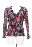 Marc O'Polo Bluse Tunika Baumwolle Mehrfarbig Gr. DE 40 Shirt