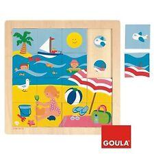 Puzzle Goula madera verano 16 piezas