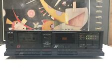 AKAI double cassette tape deck HX-A351W