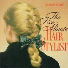The Five Minute Hair Stylist, Christine Moodie, 0517582244, Book, Good
