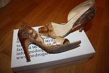 Zapatos señoras de Pedro Garcia Python-tamaño 37