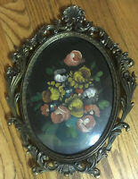 Tara Productions Original Framed Oil Painting in Ornate Frame Italy 1920s