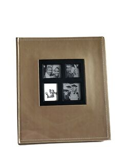 Photo Album Gold Adventure Book Keepsake New Memories Events Special