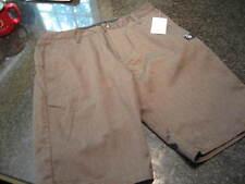 NWT - Mens VOLCOM Gray Flat Front Shorts (Size 31)