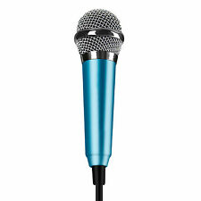 Mini 3.5mm Microphone Mic Mobile Phone Laptop MSN Karaoke Wired For Android IOS