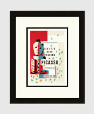"Pablo PICASSO 1954 Original Mourlot Lithograph ""Suite of Drawings"" Framed COA"