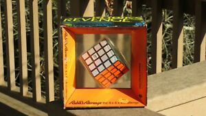 Vintage Rubik's Revenge The 4x4x4 Challenge Cube Puzzle 1982 NIB Ideal