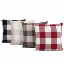 Linen Blend Living Room Modern Decorative Cushions & Pillows