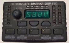 Behringer Shark DSP110 Digital 24-Bit Multi-Function Audio Signal Processor