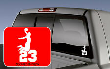 LEBRON JAMES Basketball Logo Symbol Car Vinyl Window Decal Sticker wall
