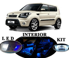 LED Package - Interior + License + Vanity + Reverse for Kia Soul (12 pieces)