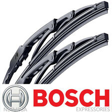2x BOSCH Wiper Blades Set for FORD FOCUS (2000-2011) Direct Connect Pair, Front