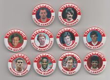 LIVERPOOL FC LEGENDS  FRIDGE MAGNETS X10  SET 3