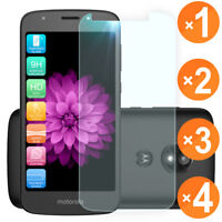 For [Motorola Moto E5 Cruise/Play/Go] Clear Tempered Glass Screen Protector