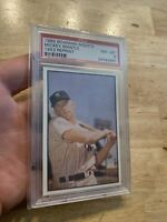 Mickey Mantle PSA 8 NEAR MINT 1989 Bowman Yankee Collector Card INVEST Babe NR