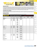 Pro X 01.2321.A Piston Kit For 2011 Yamaha YZ250