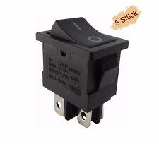 Mini/_ Einbau 2x Ein Wippschalter mit Kontrolle Rot 250V // 6A
