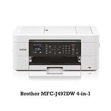 Brother MFC-J497DW 4-in1 Multifunktionsdrucker Kopierer Scanner Fax WLAN