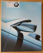 BMW 3 SERIES CONVERTIBLE 2002 2003 UK Mkt Large Format Brochure E46 330Ci Sport