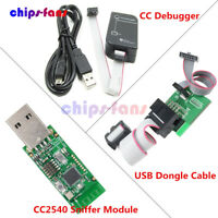 CC Debugger CC2531 Bluetooth Sniffer CC2540 Zigbee USB Dongle Downloader Cable