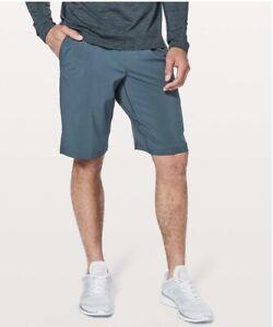 """Lululemon XL T.H.E. Linerless Shorts  Blue 11"""" Inseam"""