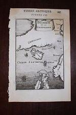✒ 1683 MANESSON MALLET découverte Groenland GREENLAND