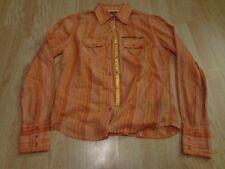Women's Harley Davidson S L/S Collared Shirt Peach