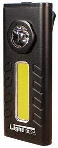 Lighthouse Elite LED Mini Lamp 500 Lumens Black 3 x AAA Batteries Included