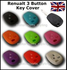 Key Cover for Renault 3 Button Case Remote Shell Protective Key Fob Cover Car 6*